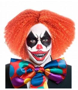 Wig Orange Clown Crazy