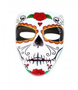 Mascara Catrina Rosa en Barbilla