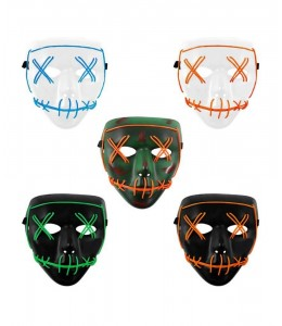 Mascara Asesino Purgador con Luz