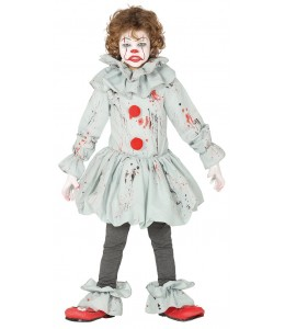 Disfarce de Palhaço Assassino de Cinema Infantil