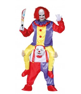 Kostüm Clown zu Schultern
