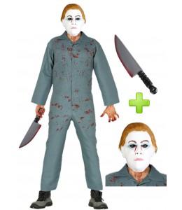 Disfarce de Assassino Homem Halloween