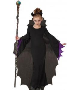 Costume of malefica for girl