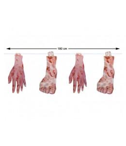 Guirnalda manos y pies
