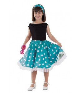 Disfraz de Yeye Años 50 Infantil