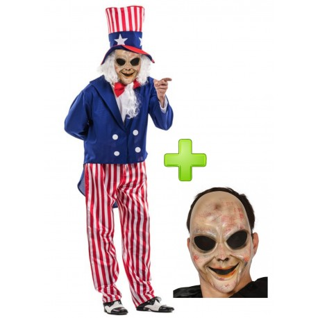 Disfraz de Americano purgador