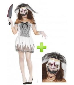 Disfraz de Novia purgadora