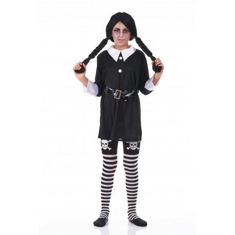 Disfraz de Miercoles infantil