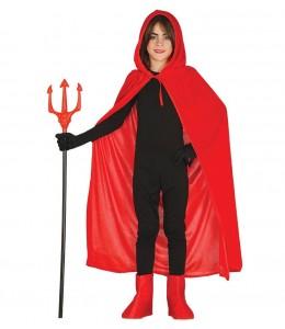 Capa Roja de Terciopelo Infantil