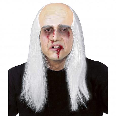 Calva Zombie con pelo