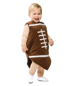 Disfraz de Balon de Rugby Bebe