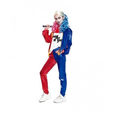 Disfraz de Joker Baby largo mujer