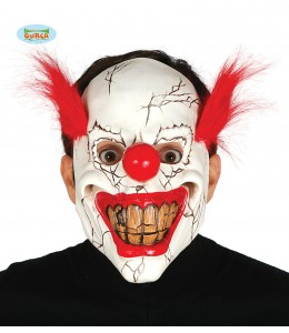 Mascara Payaso Asesino Clown