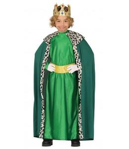 Disfraz de Rey Mago Amarillo y Lila Infantil