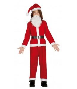Disfraz de Papa Noel Infantil Eco