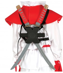 2 Espadas samurai con Espaldera