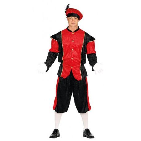 Disfraz de Paje de Rojo