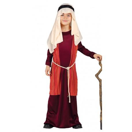 Disfraz de San Jose - Pastor Rojo Infantil