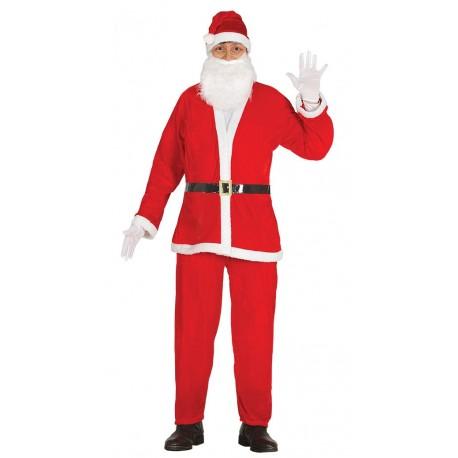 Disfraz de Papa Noel Terciopelo