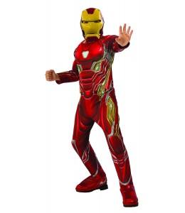 Disfraz de Iron Man Deluxe IW Infantil