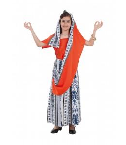 Disfraz de Sari para Niña