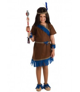 Disfraz de India Azul Infantil
