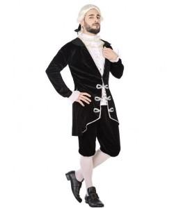 Disfraz de Cortesano Negro