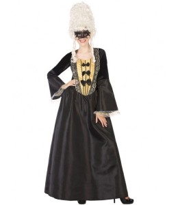 Disfraz de Cortesana Negra