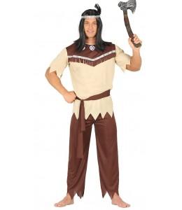 Disfraz de Indio Beige