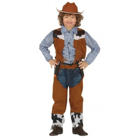 Disfraz de Vaquero o Vaquera Vaca Infantil