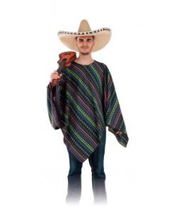 Disfraz de Poncho Mejicano