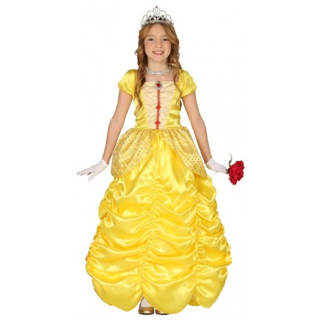 Disfraz de Princesa Amarilla Infantil