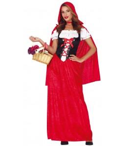 Disfraz de Caperucita Largo