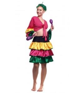 Disfraz de Brasileña Corto