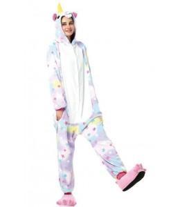 Disfraz de Unicornio Estrellas Pijama Peluche