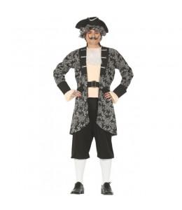 Disfraz de Pirata Gris