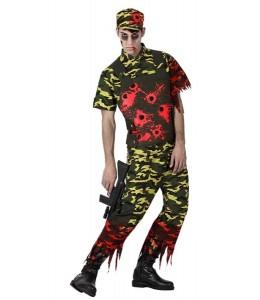 Disfraz de Militar Zombie