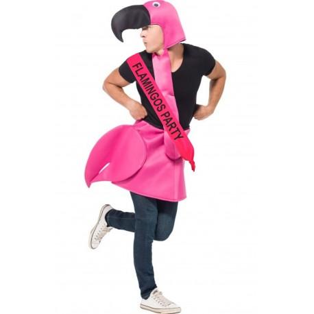 Disfraz de Flamenco con Banda - Despedida soltero