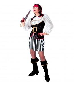Disfraz de Piratesa a Rayas