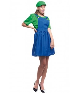 Disfraz de Fontanera Verde