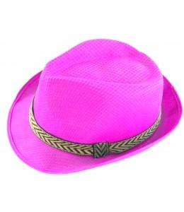 Sombrero gangster Fucsia