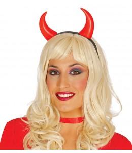 Cuernos Diablo  Complementos-Sombreros, Gorros, Cascos y Diademas