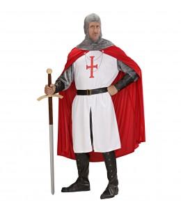 Disfraz de Cruzado Capa Roja