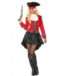 Disfraz de Capitana Pirata Vestido