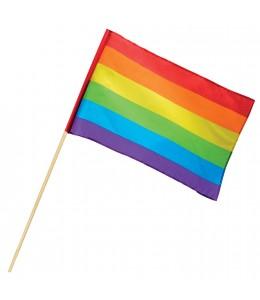 Bandera de Mano Arcoiris