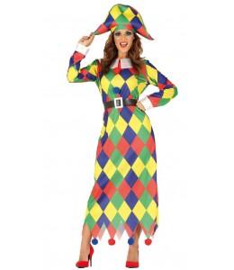 Disfraz de Arlequin para Mujer