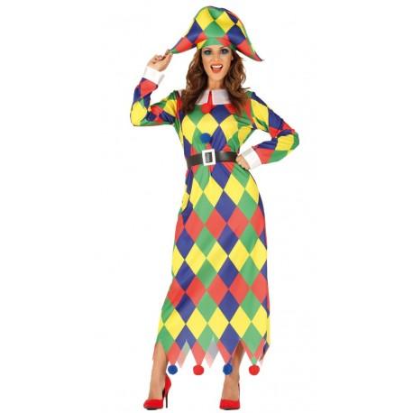 831135633 Disfraz de Arlequin para Mujer