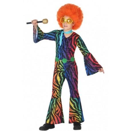 Disfraz de Disco Colores Infantil