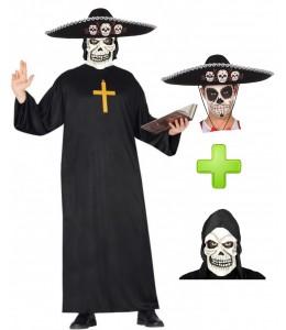 Disfraz de Catrino Cura - Pack Halloween