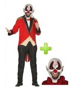 Presentador de Circo Diabolico - Disfraces Halloween